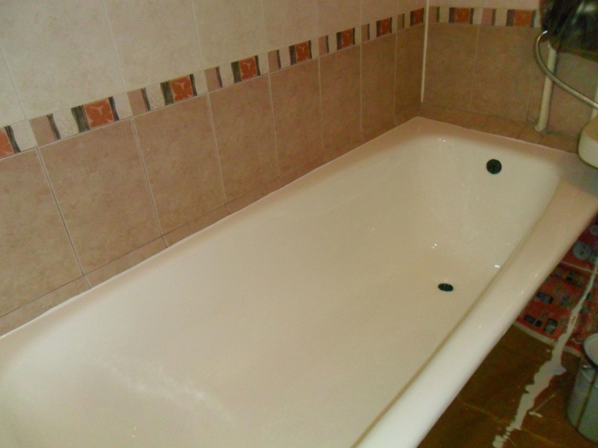 Реставрация ванн - фото №3 после