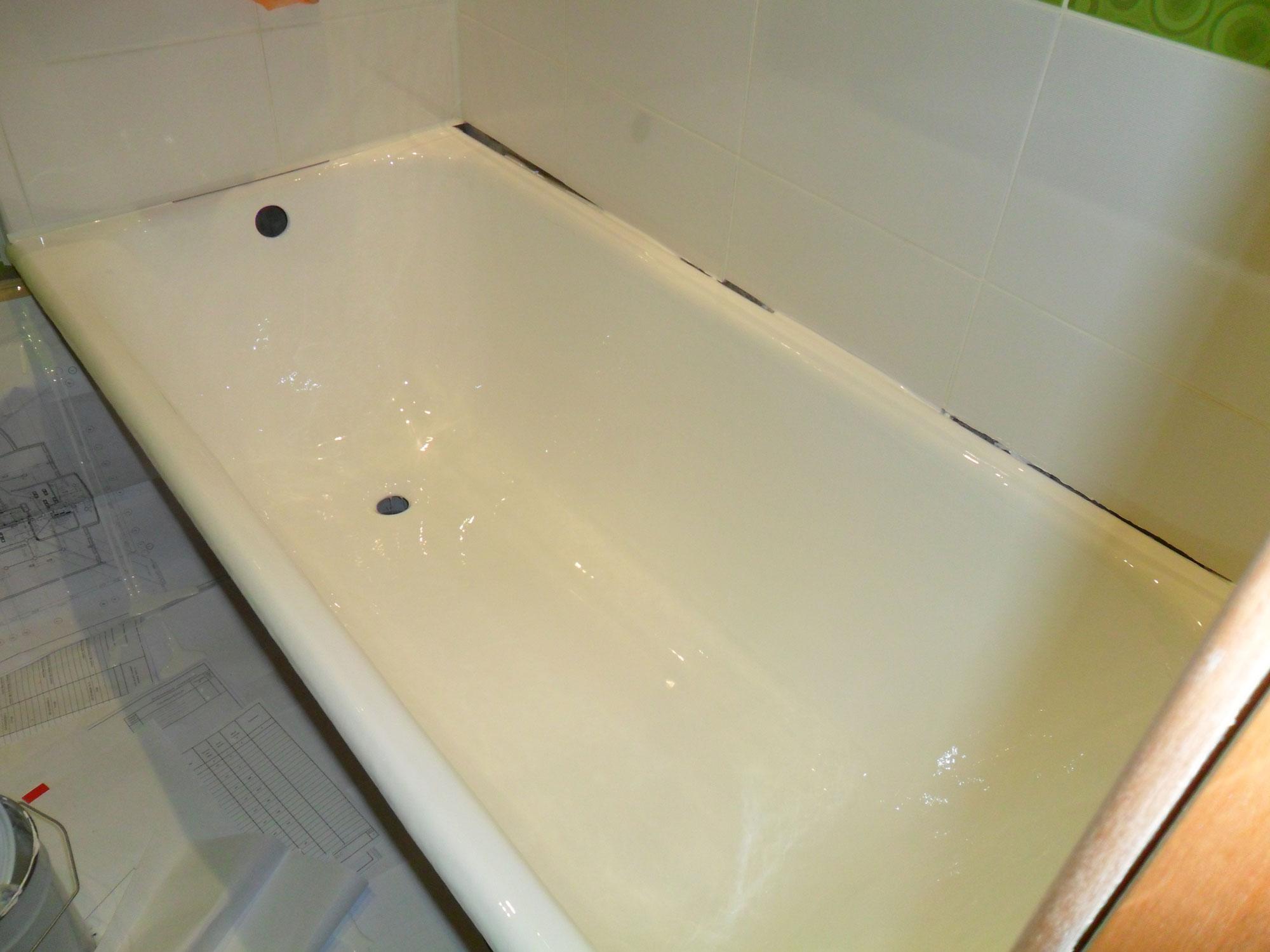 Реставрация ванн - фото №5 после