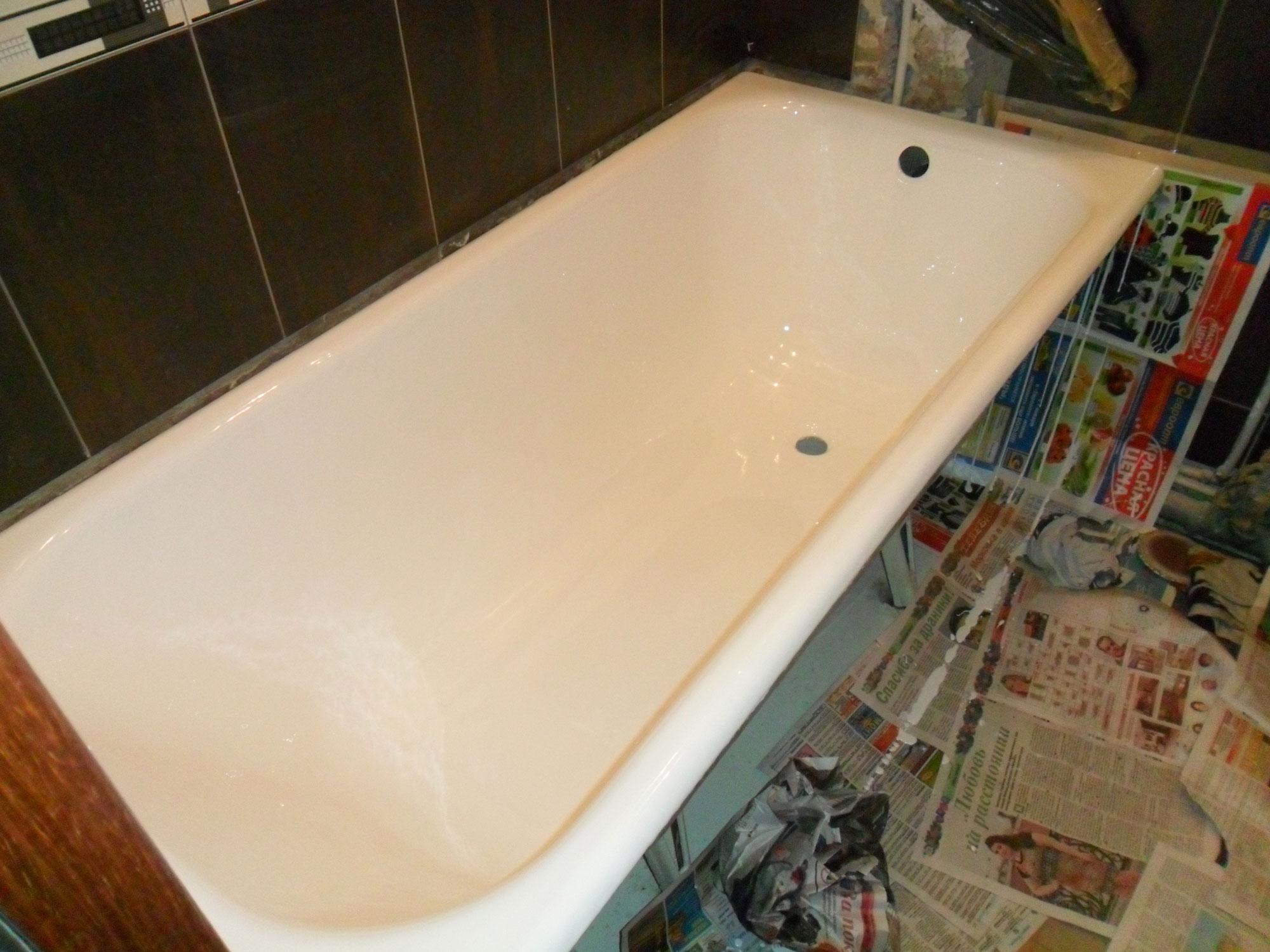Реставрация ванн - фото №6 после