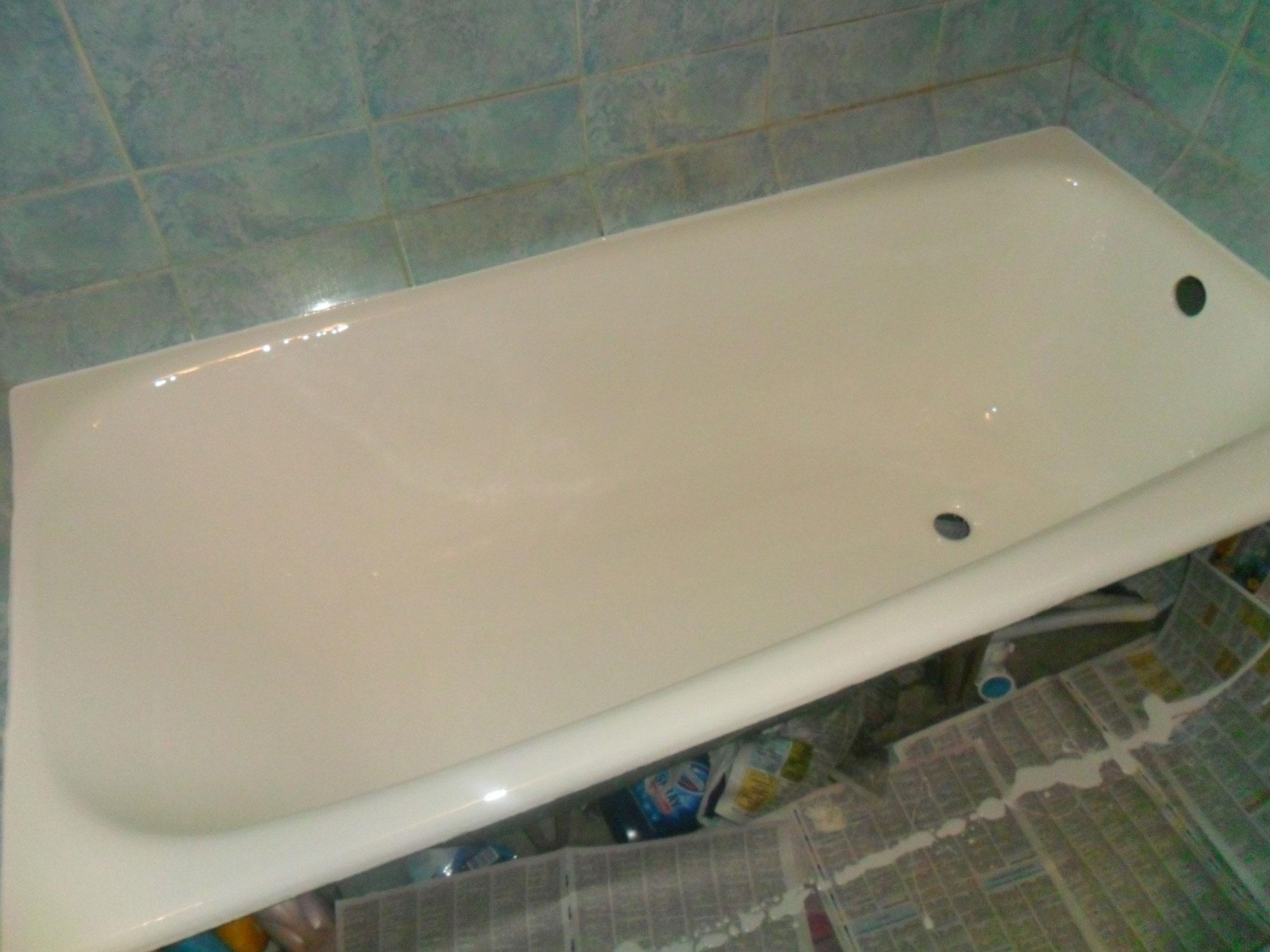 Реставрация ванн - фото №9 после